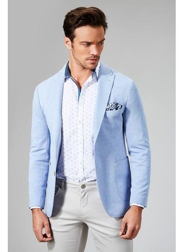 Avva Blazer Ceket Mavi